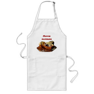 Blueberry Muffins Long Apron