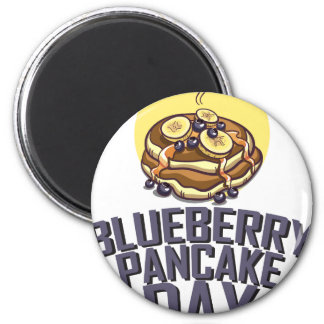 Blueberry Pancake Day - Appreciation Day 2 Inch Round Magnet