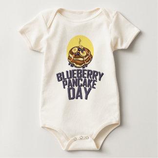 Blueberry Pancake Day - Appreciation Day Baby Bodysuit