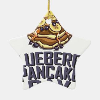 Blueberry Pancake Day - Appreciation Day Ceramic Ornament