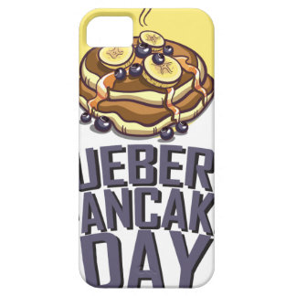 Blueberry Pancake Day - Appreciation Day iPhone 5 Cases