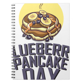 Blueberry Pancake Day - Appreciation Day Notebook