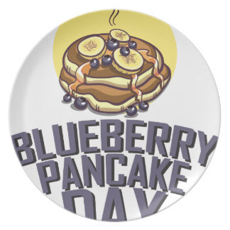 Blueberry Pancake Day - Appreciation Day Plate