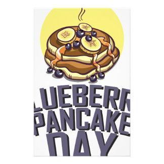 Blueberry Pancake Day - Appreciation Day Stationery