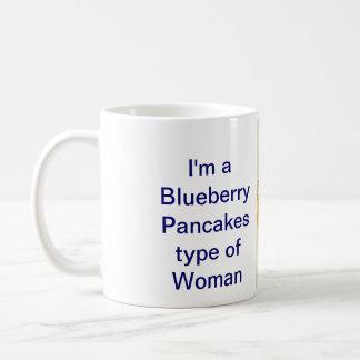 Blueberry pancakes Woman Mug