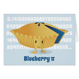 Blueberry Pi Day | Greeting Card