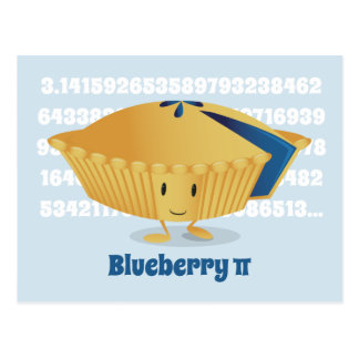 Blueberry Pi Day | Postcard