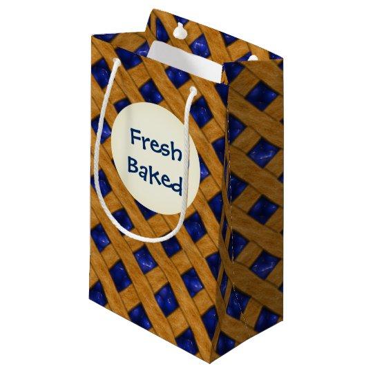 Blueberry Pie, Berry, Dessert, Bakery, Blueberry Small Gift Bag