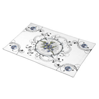Blueberry Placemats