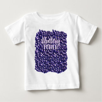 Blueberry power Fresh berry illustration Baby T-Shirt