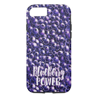 Blueberry power Fresh berry illustration Case-Mate iPhone Case