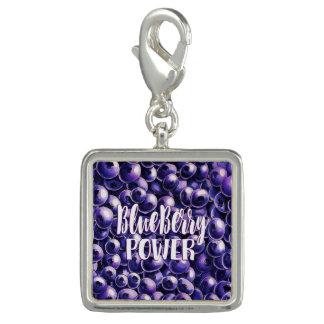 Blueberry power Fresh berry illustration Charm