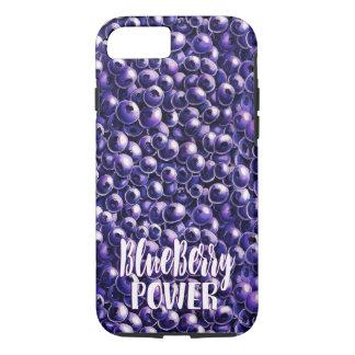 Blueberry power Fresh berry illustration iPhone 8/7 Case