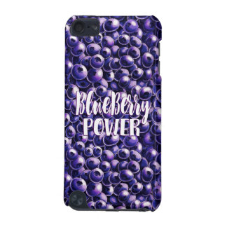 Blueberry power Fresh berry illustration iPod Touch (5th Generation) Case