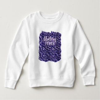 Blueberry power Fresh berry illustration Sweatshirt