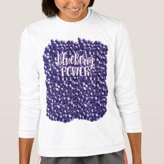 Blueberry power Fresh berry illustration T-Shirt