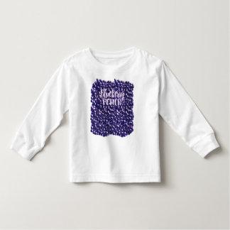 Blueberry power Fresh berry illustration Toddler T-shirt