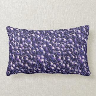 Blueberry power Fresh berry  illustrations Lumbar Pillow