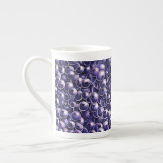Blueberry power Fresh berry  illustrations Tea Cup
