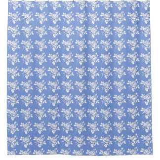 Blueberry-Roses-White-Traditional Fabric Decor