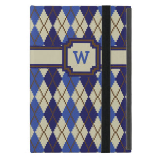 Blueberry Scone Argyle iPad Powis Case Cases For iPad Mini