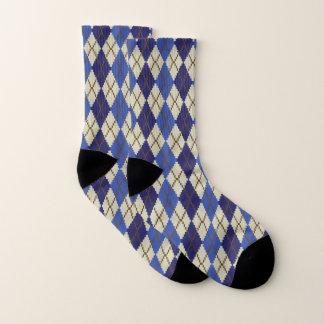 Blueberry Scone Argyle Socks