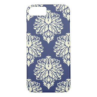 Blueberry Southern Cottage Damask iPhone 8/7 Case