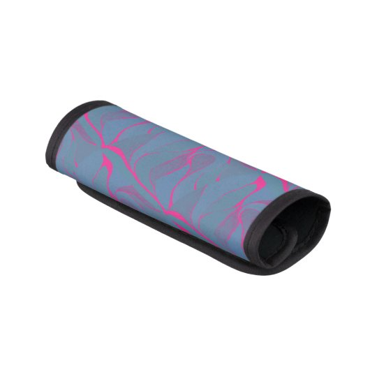 Blueberry Splash Luggage Handle Wrap