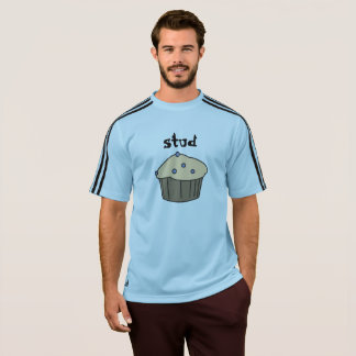 Blueberry Stud Muffin Blue Adidas Men's T-Shirts