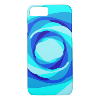 Blueberry Swirl iPhone Case
