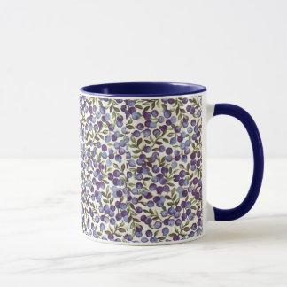 Blueberry Teacup Mug