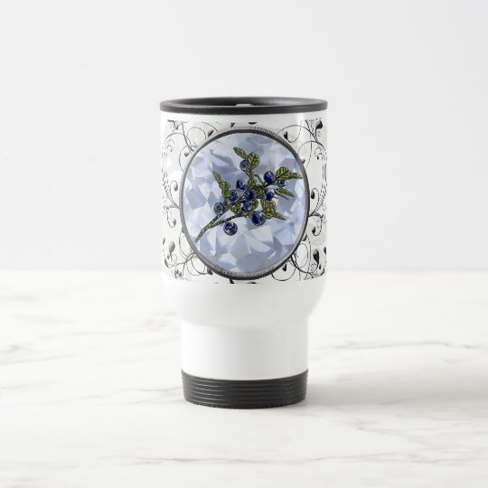 Blueberry Travel Mug