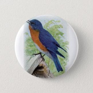 Bluebird 2 Inch Round Button