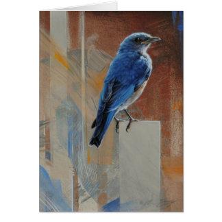 Bluebird Blank Card by Andrew Denman