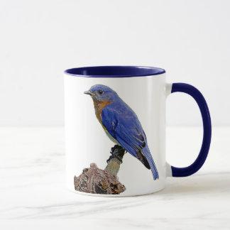 BlueBird Blue Ring Mug