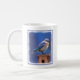 Bluebird (Female) Coffee Mug