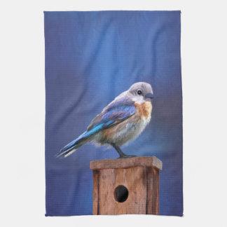 Bluebird (Female) Hand Towel