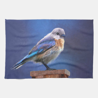 Bluebird (Female) Hand Towels