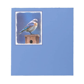 Bluebird (Female) Notepad