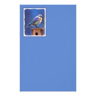 Bluebird (Female) Stationery