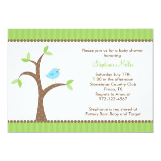 Bluebird in Tree Invitations
