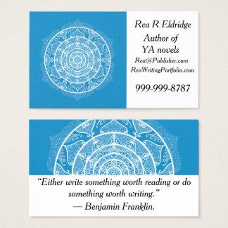 Bluebird Mandala Business Card