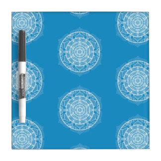 Bluebird Mandala Dry Erase Board
