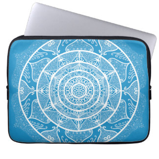 Bluebird Mandala Laptop Sleeve
