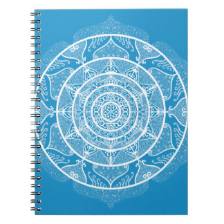 Bluebird Mandala Notebook