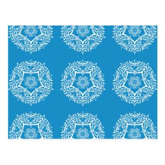 Bluebird Mandala Postcard