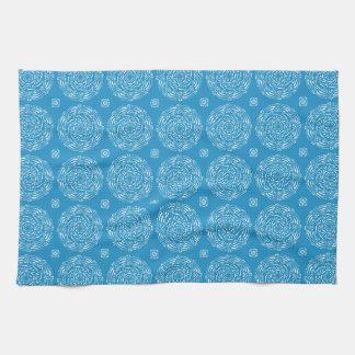 Bluebird Mandala Towels
