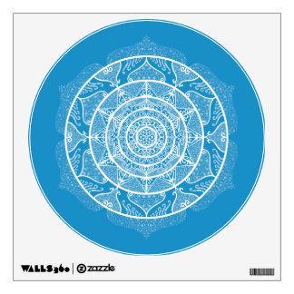 Bluebird Mandala Wall Decal