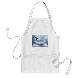 Bluebird Memorial Poem Standard Apron