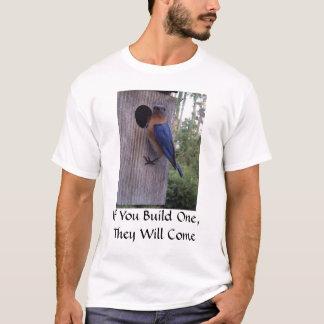 Bluebird Nest Box T-Shirt